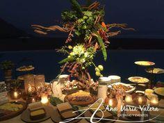 Mesa de papas -  Matrimonio en la Playa