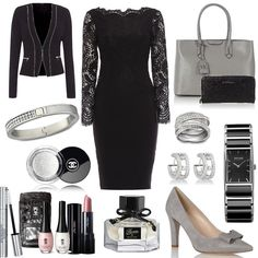 Festive black