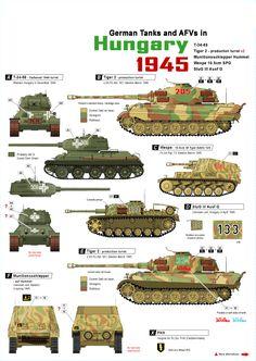 Panzer en Hungría ante los soviéticos,