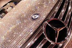 Swarovski crystals powered Mercedes Benz