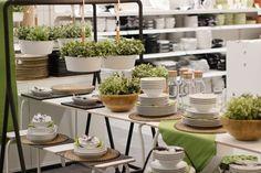 Ikea Home, Table Settings, House, Table Decorations, Furniture, Home Decor, Decoration Home, Home, Room Decor