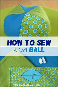 How to sew a soft ball, a perfect diy toy for babies! Get the free sewing pattern for this baby toy and make a great baby-welcoming gift in no time! Great idea for a baby shower gift! The free template is on the blog, in addition to more than 100 other free patterns - check them all out now! #freepattern #sewingforkids #sewing #baby #newmom Baby Sewing Projects, Sewing Projects For Beginners, Sewing For Kids, Sewing Tutorials, Sewing Patterns Free, Free Sewing, Free Pattern, Diy Gifts For Kids, Diy Toys