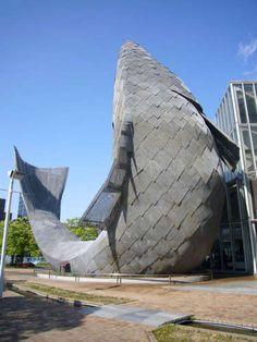 Frank Gehry Fish Dance Restaurant - Kobe