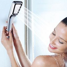 Checkout our New Arrival of Collection:1PCS Pressurized Water Saving Shower Head  Hand Shower