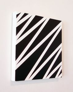 Discover recipes, home ideas, style inspiration and other ideas to try. Painters Tape Art, Masking Tape Art, Tape Painting, Diy Painting, White Canvas Art, Mini Canvas Art, Diy Canvas, Canvas Wall Art, Wall Art Prints
