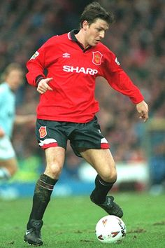 Lee Sharpe Football Man Utd and England