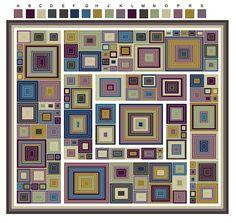 Transcendent Crochet a Solid Granny Square Ideas. Inconceivable Crochet a Solid Granny Square Ideas. Granny Square Häkelanleitung, Granny Square Crochet Pattern, Crochet Squares, Crochet Granny, Crochet Motif, Crochet Designs, Love Crochet, Crochet Stitches, Knit Crochet