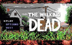 Walking Dead C64: Title Screen by NickBounty.deviantart.com (note: made by TTG's very own Ep.2 writer & employee Mark Darin)