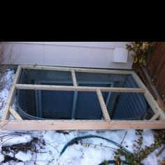 It has long been known that the Diy Window Well Cover is a great way to sound insulation and the best ability to bring in an interior room comfort style & Why Buy It When You Can Build It: Egress Window Well Covers ...