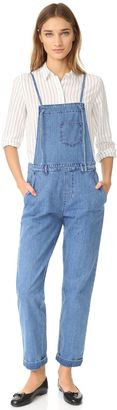 Shop Now - >  https://api.shopstyle.com/action/apiVisitRetailer?id=624323308&pid=uid6996-25233114-59 M.i.h Jeans Lindvall Dungarees  ...