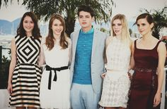 The Bling Ring cast in Cannes