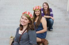 Flower crowns ft my little and my big