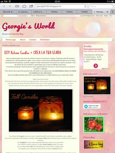 Go check it out  #blogpost #candles #fallcandles #georgiesworld #diy