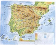 TOUCH this image to discover its story. Image tagging powered by ThingLink Iberian Peninsula, Don Juan, Andalucia, Social Studies, Geography, Vintage World Maps, Images, Science, History