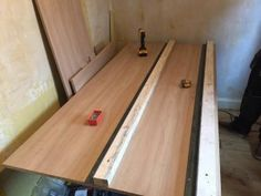 The Problem Of The Box Room Stairs Bulkhead - The Cabin Bed Company Bulkhead Bedroom, Stairs Bulkhead, Building A Cabin, Bed Company, Small Boxes, Bamboo Cutting Board, Wood, Beds, House