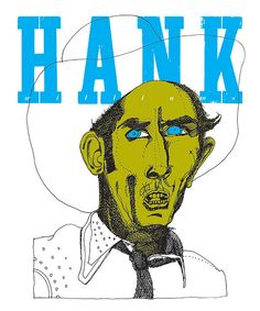 """Hank: Silkscreen (30"""" x 36"""") by b_caruthers, via Flickr"""