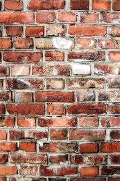 red brick.. this is what we have behind our fireplace. it shows the red, taupe and chocolate with bits of white.
