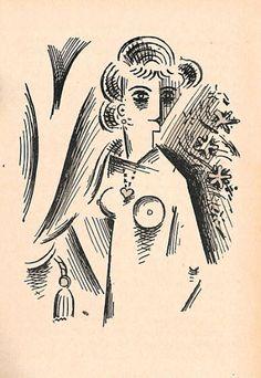 Josef Čapek - Grafika - Graphic - 1912 -1918 ::: Galerie ART Chrudim   Josef Kapek