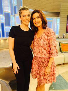 Nesta última sexta-feira, estive ao vivo no programa Encontro com Fátima Bernardes, da Rede Globo.