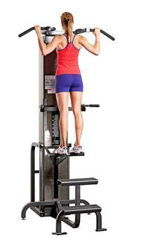 weight machines at the gym - fitness magazine / tone your back