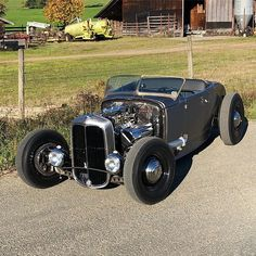 Ford 1932, 1932 Ford Roadster, Carros Audi, Classic Hot Rod, Ford Models, Real Men, Rat Rods, Rats, Muscle Cars
