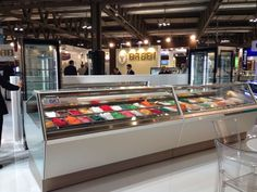 ISA at Host 2013 in Fiera Milano, Italy - www.isaitaly.com #forniture #icecream #pastry #bar #icecreamparlour