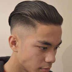 Undercut with Long Slicked Back Hair