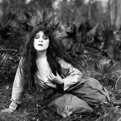 Theda Bara in Heart and Soul  (J. Gordon Edwards, 1917) This film is now considered to be lost.
