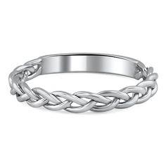 Braided Wedding Ring #BrilliantEarth