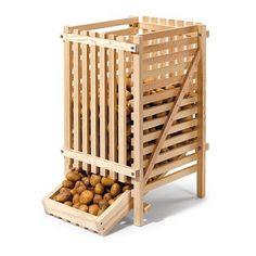Kartoffelhorde Kiefernholz