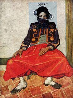 Обложки музыкальных альбомов совместили с классическими картинами — Эйзен Бернардо превратил каверы популярных пластинок в элементы работ художников.