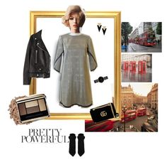 """""""Sin título #610"""" by angstylist on Polyvore featuring moda, Yves Saint Laurent, Gucci, Acne Studios, Myku y Tolani"""