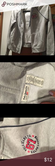 Polo jeans Co. Size small Good condition hoodie Tops Sweatshirts & Hoodies
