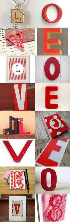 Scrabble red letter L pendant