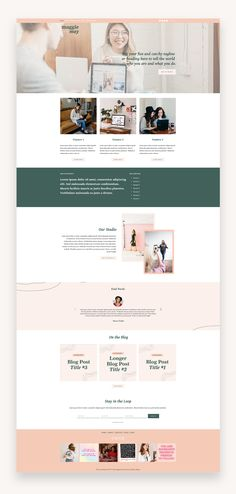 The Maggie May template was designed for creative studios, agencies, creative entrepreneurs and service-based businesses of all kinds. It's incredibly versatile and includes both optional blog and shop pages with easy setup. #BusinessTheme #Squarespace #CreativeTemplate #PremiumTemplate