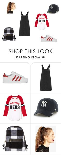 """Untitled #20"" by d-divaa on Polyvore featuring adidas Originals, Topshop, '47 Brand and ASOS"
