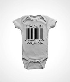 MADE IN VACHINA by FunhouseTshirts