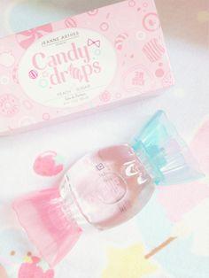 Jeanne Arthes' Candy Drops perfume. Essence of 'peach sugar'.