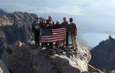 Why do so many combat veterans turn to mountain climbing?