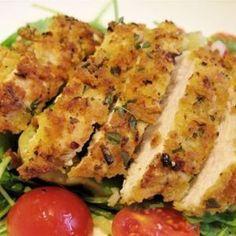 Crispy Lemon & Herb Chicken