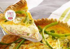 Quiche au râpé de jambon, asperge et fromage frais | Croquons La Vie - Nestlé