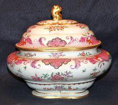Beautiful Old Paris Porcelain French Tureen