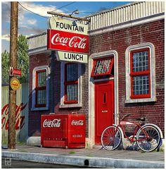 Vintage Coca-Cola Ad | by Eugenio Garcia Villarreal, via Flickr