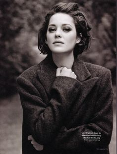 Marion Cotillard Short Bob Haircuts with Backcombed Hair - Frauen Haar Modelle Pretty People, Beautiful People, Beautiful Women, Simply Beautiful, Short Bob Haircuts, Audrey Tautou, Jeanne Damas, French Actress, Celebrity Hairstyles