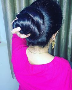Formal Hairstyles For Long Hair, Braided Hairstyles, Cool Hairstyles, Long Hair Styles, Beautiful Buns, Beautiful Long Hair, Amazing Hair, Long Silky Hair, Super Long Hair
