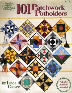 101 Pacthwork Blocks an idea as Potholders - Jaw Vaw - Picasa-Webalben