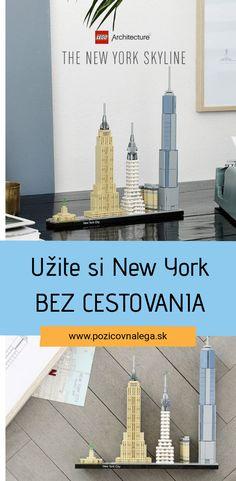 Užite si New York City aj bez cestovania! Lego Architecture ponúka nezabudnuteľné zážitky. Lego Architecture, Big Ben, New York City, New York Skyline, Opera, New York, Opera House, Nyc
