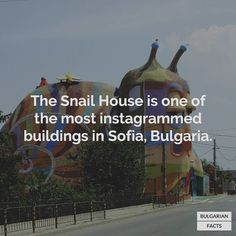 It is designed by Simeon Simeonov. #bulgarianfacts #bulgaria #българия #snailhouse
