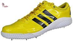 cheap for discount da589 f86ab Adidas Chaussures Spikes saut en hauteur Athlétisme Sport Adizero HJ  unisexe Q34081 Taille 42 2 3  Amazon.fr  Chaussures et Sacs
