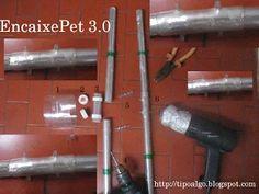 Foto: EncaixePet 3.0 - Ideia para unir as barras usando apenas PET. 1 - Parte…